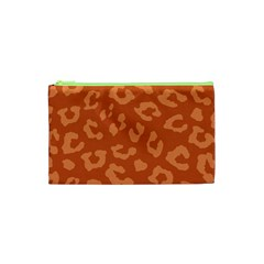 Autumn Animal Print 3 Cosmetic Bag (xs) by tarastyle