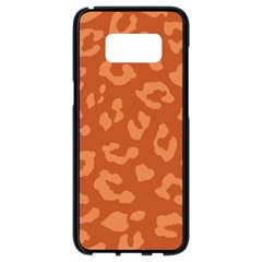 Autumn Animal Print 3 Samsung Galaxy S8 Black Seamless Case by tarastyle
