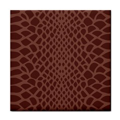 Autumn Animal Print 5 Tile Coasters by tarastyle