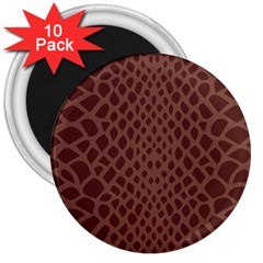 Autumn Animal Print 5 3  Magnets (10 Pack)  by tarastyle