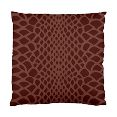Autumn Animal Print 5 Standard Cushion Case (one Side) by tarastyle