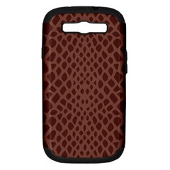 Autumn Animal Print 5 Samsung Galaxy S Iii Hardshell Case (pc+silicone) by tarastyle