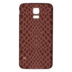 Autumn Animal Print 5 Samsung Galaxy S5 Back Case (white) by tarastyle