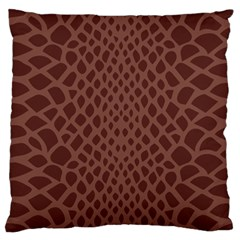 Autumn Animal Print 5 Standard Flano Cushion Case (two Sides) by tarastyle