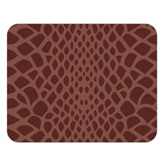 Autumn Animal Print 5 Double Sided Flano Blanket (large)  by tarastyle