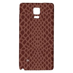 Autumn Animal Print 5 Galaxy Note 4 Back Case