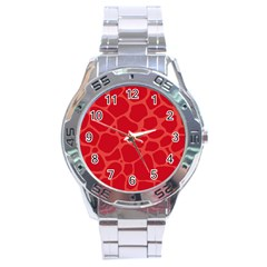 Autumn Animal Print 6 Stainless Steel Analogue Watch by tarastyle