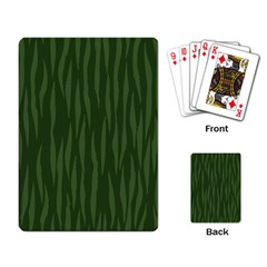 Autumn Animal Print 7 Playing Card by tarastyle
