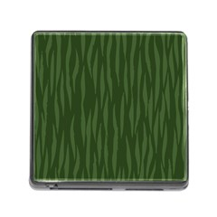 Autumn Animal Print 7 Memory Card Reader (square) by tarastyle