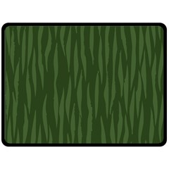 Autumn Animal Print 7 Double Sided Fleece Blanket (large)  by tarastyle