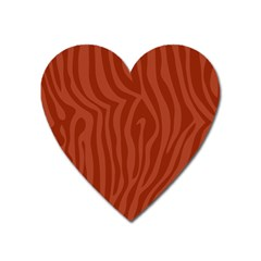 Autumn Animal Print 8 Heart Magnet by tarastyle
