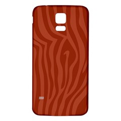 Autumn Animal Print 8 Samsung Galaxy S5 Back Case (white) by tarastyle