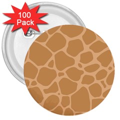 Autumn Animal Print 10 3  Buttons (100 pack)