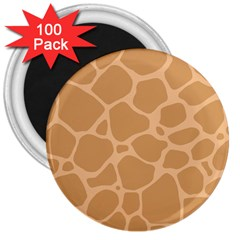 Autumn Animal Print 10 3  Magnets (100 pack)