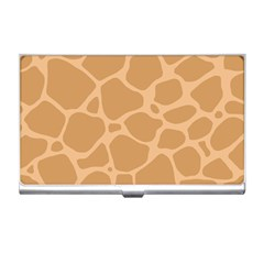 Autumn Animal Print 10 Business Card Holders