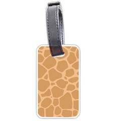 Autumn Animal Print 10 Luggage Tags (One Side)