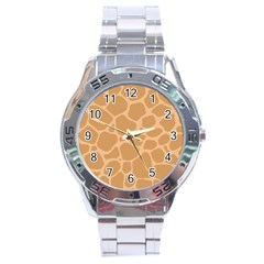 Autumn Animal Print 10 Stainless Steel Analogue Watch