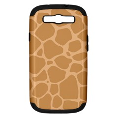 Autumn Animal Print 10 Samsung Galaxy S Iii Hardshell Case (pc+silicone) by tarastyle