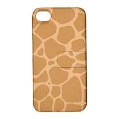 Autumn Animal Print 10 Apple iPhone 4/4S Hardshell Case with Stand