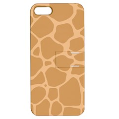 Autumn Animal Print 10 Apple iPhone 5 Hardshell Case with Stand