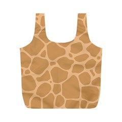 Autumn Animal Print 10 Full Print Recycle Bags (M)