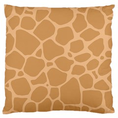 Autumn Animal Print 10 Standard Flano Cushion Case (One Side)