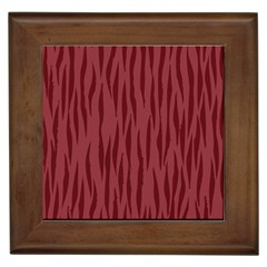 Autumn Animal Print 12 Framed Tiles by tarastyle