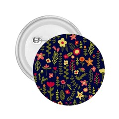 Cute Doodle Flowers 1 2 25  Buttons by tarastyle