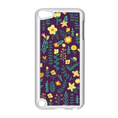 Cute Doodle Flowers 2 Apple Ipod Touch 5 Case (white) by tarastyle