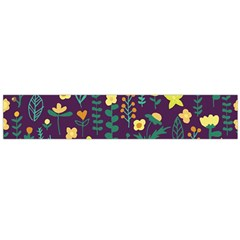 Cute Doodle Flowers 2 Flano Scarf (large) by tarastyle