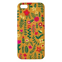 Cute Doodle Flowers 4 Apple Iphone 5 Premium Hardshell Case by tarastyle