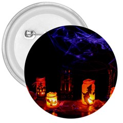 Awaiting Halloween Night 3  Buttons by gothicandhalloweenstore