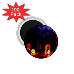 Awaiting Halloween Night 1 75  Magnets (100 Pack)  by gothicandhalloweenstore