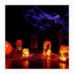 Awaiting Halloween Night Medium Glasses Cloth (2-side) by gothicandhalloweenstore