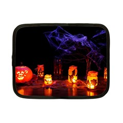 Awaiting Halloween Night Netbook Case (small)  by gothicandhalloweenstore