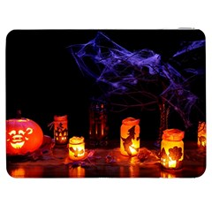 Awaiting Halloween Night Samsung Galaxy Tab 7  P1000 Flip Case by gothicandhalloweenstore