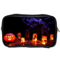 Awaiting Halloween Night Toiletries Bags 2 Side by gothicandhalloweenstore