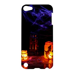 Awaiting Halloween Night Apple Ipod Touch 5 Hardshell Case by gothicandhalloweenstore
