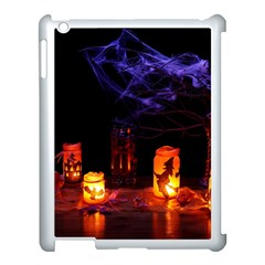 Awaiting Halloween Night Apple Ipad 3/4 Case (white) by gothicandhalloweenstore
