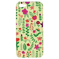 Cute Doodle Flowers 5 Apple Iphone 5 Hardshell Case by tarastyle