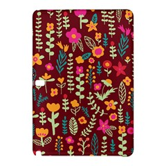 Cute Doodle Flowers 6 Samsung Galaxy Tab Pro 12 2 Hardshell Case by tarastyle