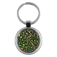 Cute Doodle Flowers 7 Key Chains (round)  by tarastyle
