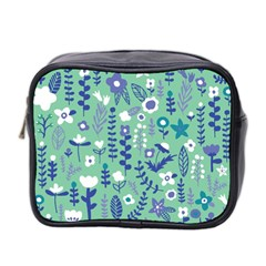 Cute Doodle Flowers 9 Mini Toiletries Bag 2 Side by tarastyle