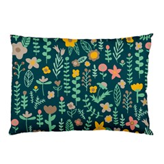 Cute Doodle Flowers 10 Pillow Case (two Sides) by tarastyle