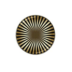 Art Deco Goldblack Hat Clip Ball Marker (10 Pack) by 8fugoso