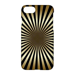 Art Deco Goldblack Apple Iphone 7 Hardshell Case by 8fugoso