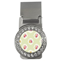 Green Shabby Chic Money Clips (cz)  by 8fugoso