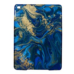Ocean Blue Gold Marble Ipad Air 2 Hardshell Cases by 8fugoso