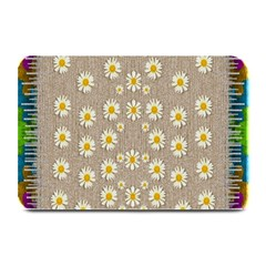 Star Fall Of Fantasy Flowers On Pearl Lace Plate Mats