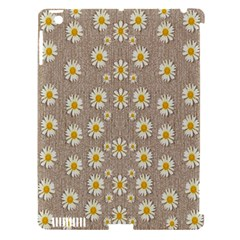 Star Fall Of Fantasy Flowers On Pearl Lace Apple Ipad 3/4 Hardshell Case (compatible With Smart Cover) by pepitasart